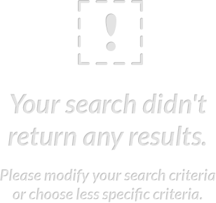 Your search didn't return any results