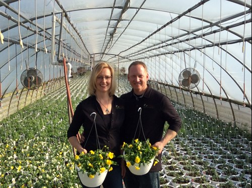 Christine and Scott Mason from Ritter Greenhouse