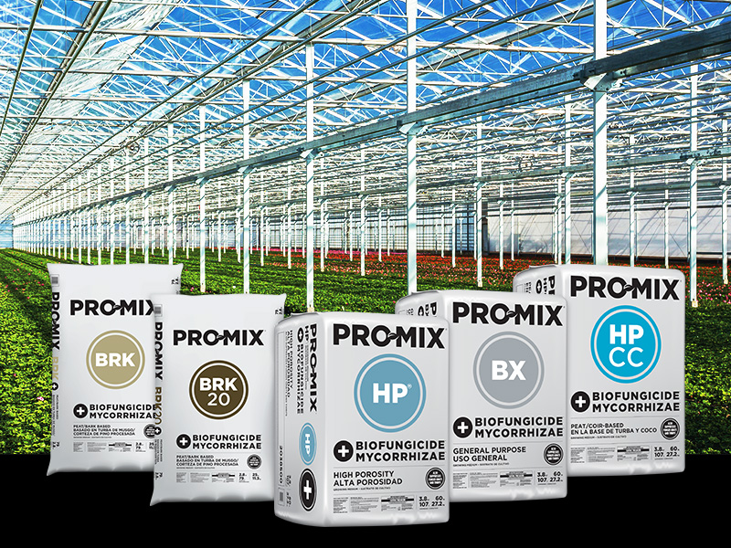 PRO-MIX Products with Mycorrhizae and Biofungicide